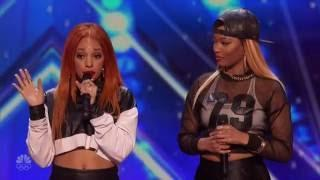 Good Girl: Philly Singing Group Absolutely Slays Audition Performance - America's Got Talent 2016