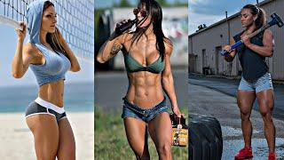 CRAZY AND STRONG AND FITNESS GIRL  MOTIVATION  - 锻炼动机