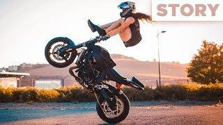 The Story of world's best female stunt rider | Sarah Lezito - 特技车手
